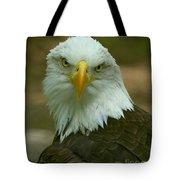 Regal Eagle Portrait Tote Bag