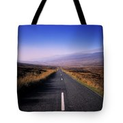Regional Road In County Wicklow Tote Bag