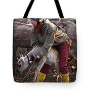 Reindeer Farm Work Tote Bag