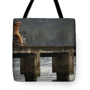 Relaxed Ride Hanalei Bay Tote Bag