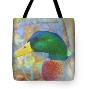 Relaxing By The Pond Tote Bag