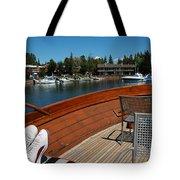 Relaxing On Lake Tahoe Tote Bag