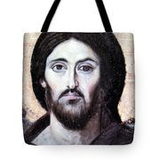 Religious Painting At Beit Jala Tote Bag
