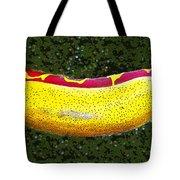 Relishing A Hotdog Tote Bag