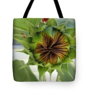 Reluctant To Bloom Tote Bag