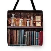 Remedies And Visiting List Tote Bag