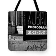 Remembering Kubrick Tote Bag