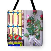Remembering With Roses Tote Bag