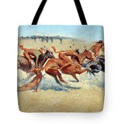 Remington: Indian Warfare Tote Bag