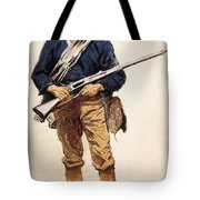 Remington: Soldier, 1901 Tote Bag
