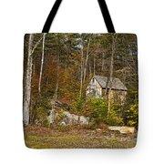 Remote Vermont Cabin Tote Bag