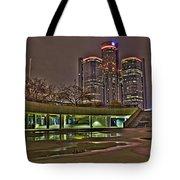 Renaissance Center Detroit Mi Tote Bag