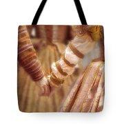 Renaissance Couple Holding Hands Tote Bag