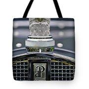 Rene Lalique Glass Eagles Head Hood Ornament 2 Tote Bag