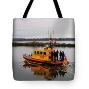 Rescue Boat Tote Bag