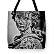 Resigned To Fate - Bw Tote Bag