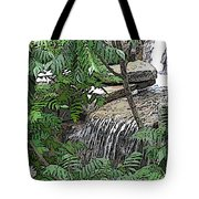 Respite From The Maddening Crowds Tote Bag