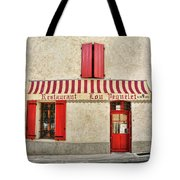 Restaurant In Provence Tote Bag