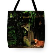 Resting Cow Tote Bag