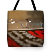 Resting My Eyes Tote Bag
