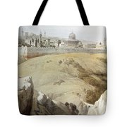 Resting Near Jerusalem Tote Bag