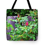 Resting Rosebuds Enhanced Tote Bag