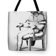 Restraining Chair 1811 Tote Bag