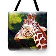 Reticulated Giraffe Tote Bag