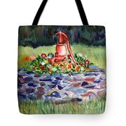 Retired Water Pump Tote Bag