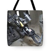 Retractable Arm Of Talon 3b Robot Tote Bag by Stocktrek Images
