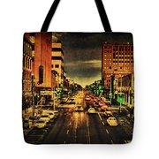 Retro College Avenue Tote Bag