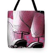 Retro In Pink Tote Bag