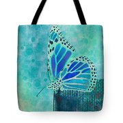 Reve De Papillon - S02a2 Tote Bag by Variance Collections