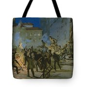 Revolution In Florence Tote Bag