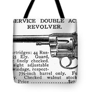 Revolver, 19th Century Tote Bag