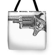 Revolver Ad, 1878 Tote Bag