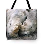 Rhino Love Tote Bag