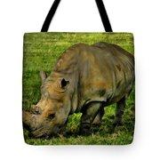 Rhinoceros 101 Tote Bag