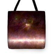 Rho Ophiuchi Nebula And Galactic Center Tote Bag