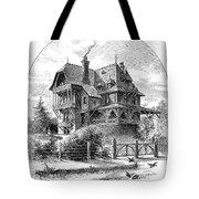 Rhode Island: Villa, 1876 Tote Bag by Granger