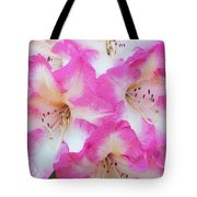 Rhododendron- Hot Pink Tote Bag