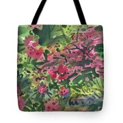 Rhododendrons And Azaleas Tote Bag