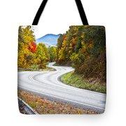 Ribbon Road Tote Bag