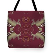 Ribbons To Claws Tote Bag