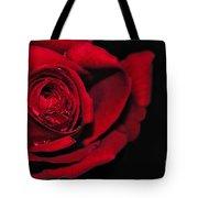 Rich Red Rose Tote Bag