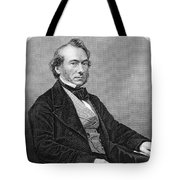 Richard Cobden (1804-1865). /nenglish Politician And Economist. Steel Engraving, English, 19th Century Tote Bag