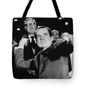 Richard Nixon (1913-1994) Tote Bag