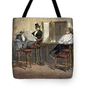 Richmond Barbershop, 1850s Tote Bag