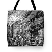 Richmond: Theater Fire Tote Bag