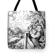 Richter Illustration Tote Bag